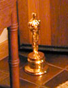 Christopher Chapman, 2004 :: Christopher with his gold doorstop