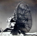 Damaged German Würzburg Radar in Normandy :: Photo by Eric Aldwinckle (collection of Margaret Bridgman)